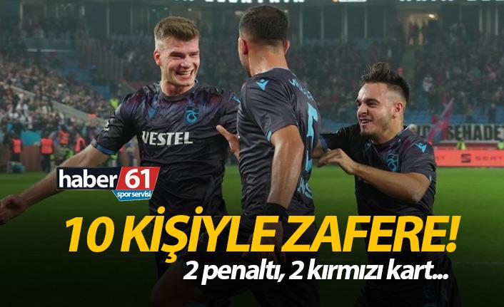 Trabzonspor Alanyaspor'u yendi