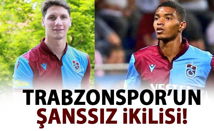 Trabzonspor'un şanssız ikilisi!