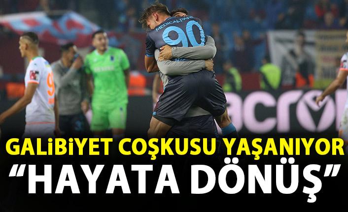 Trabzon Gazetelerinde galibiyet coşkusu: Hayata dönüş!