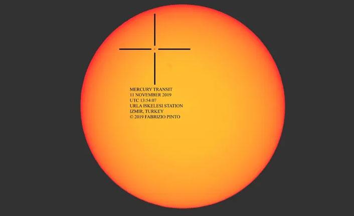 Merkür, Güneş ile Dünya arasından geçti