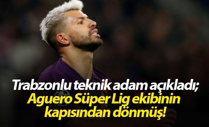 Trabzonlu teknik adamdan Aguero itirafı