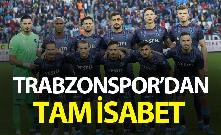 Trabzonspor'dan tam isabet