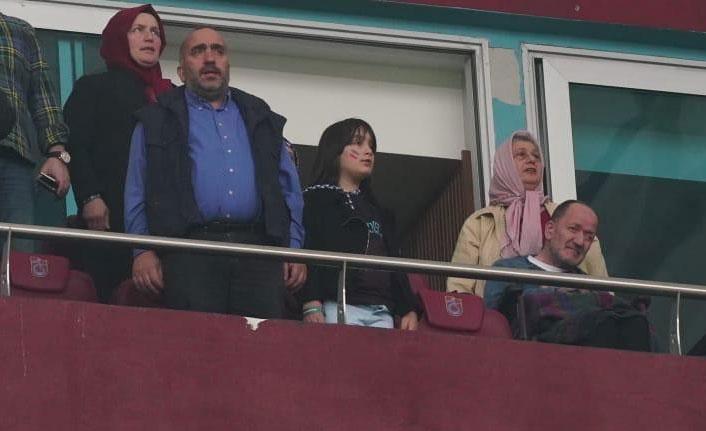 Trabzonspor fedakar eşin isteğini yerine getirdi
