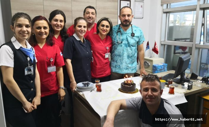 İmperial Hastanesi'nde sürpriz doğum günü