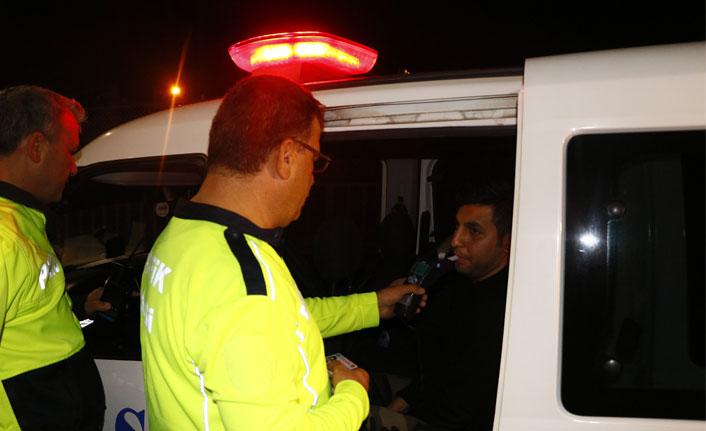 Polisten kaçtı yakalandığında 134 promil alkollü çıktı
