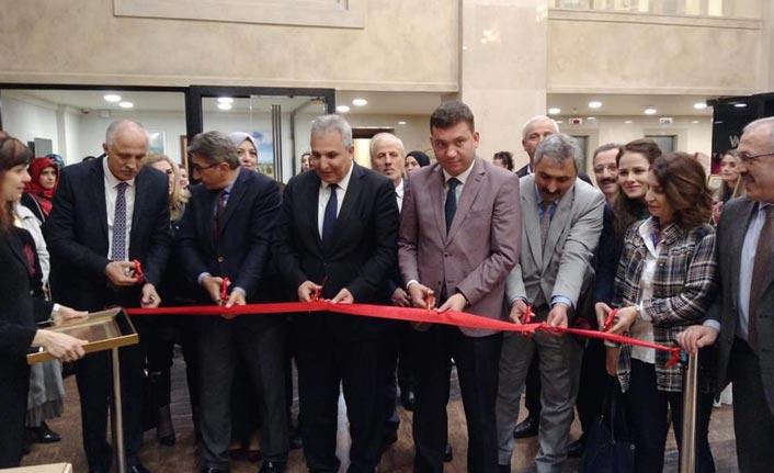 Trabzon'da Tezhip sergisi açıldı