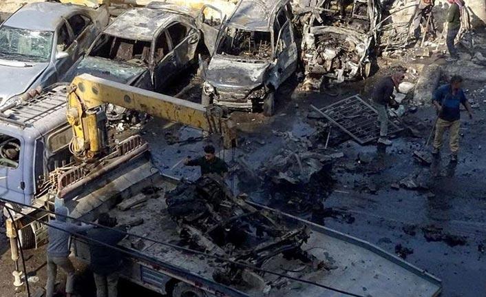 Bab'da bombalı terör saldırısı: 18 ölü