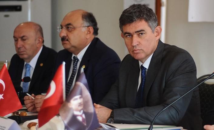 Metin Feyzioğlu Giresun'da konuştu