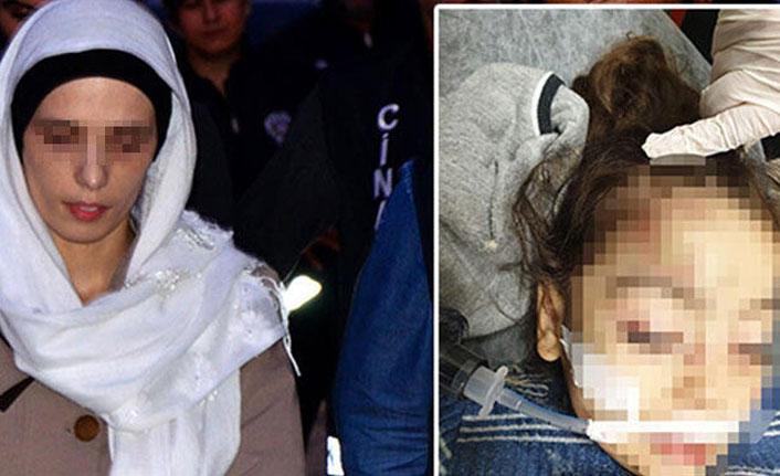 3 yaşındaki kız çocuğunu döverek komaya soktu!