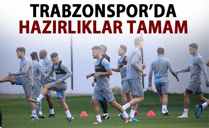 Trabzonspor, Ankaragücü maçı hazırlıklarını tamamladı