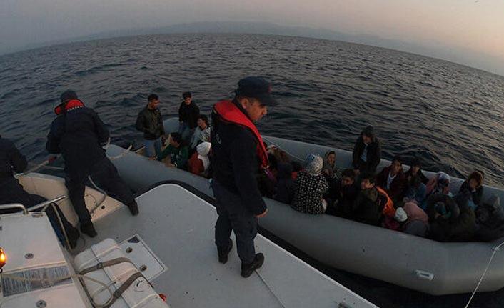 83 kaçak göçmen yakalandı