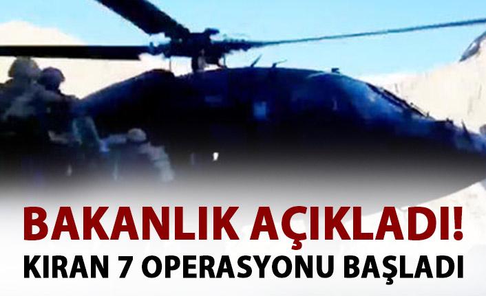 Kıran-7 operasyonu başladı