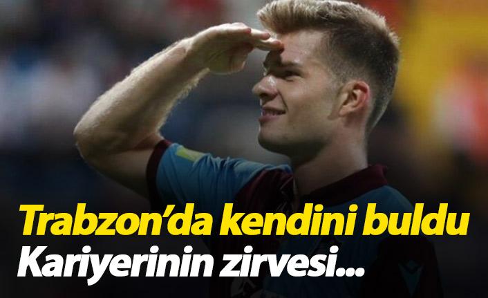 Sörloth Trabzon'da kendini buldu