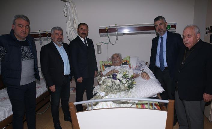 Trabzonspor'dan eski başkan Ataman'a ziyaret
