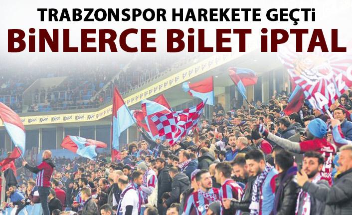 Trabzonspor o biletleri iptal etti! Yeniden satılacak!