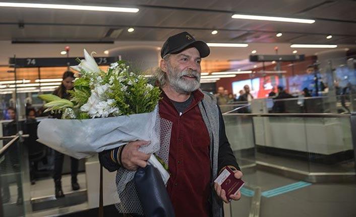 Emmy Ödüllü Haluk Bilginer yurda döndü