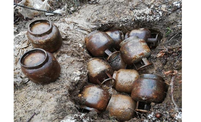Bitlis'te 300 kilo EYP imha edildi