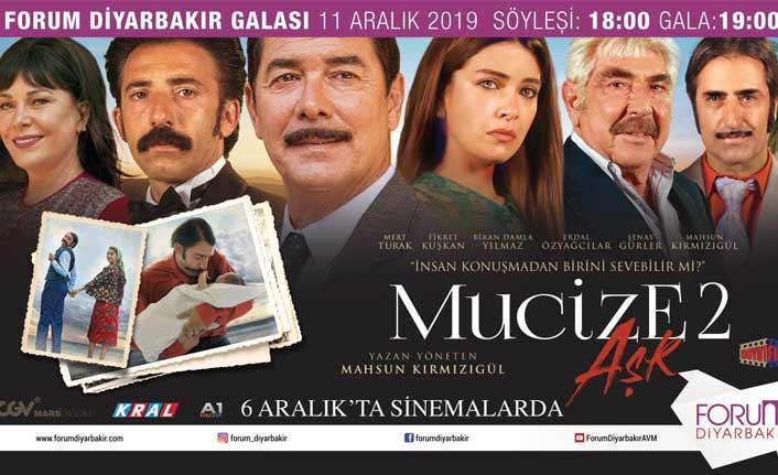 Mucize Aşk 2' nin galası Diyarbakır'da yapılacak