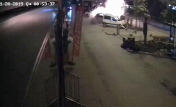Adana'da patlatılan bomba, Suriye'den ateşlenmiş