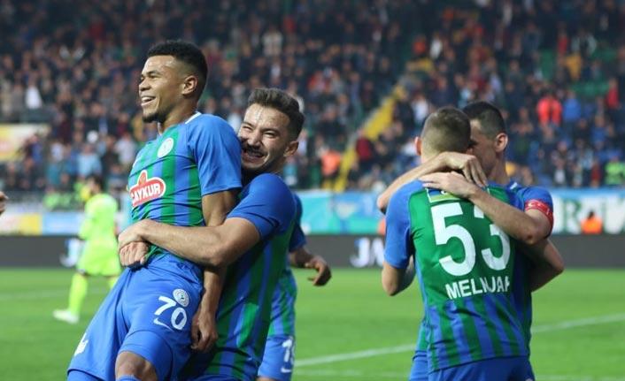 Rizespor Konyaspor'u rahat geçti