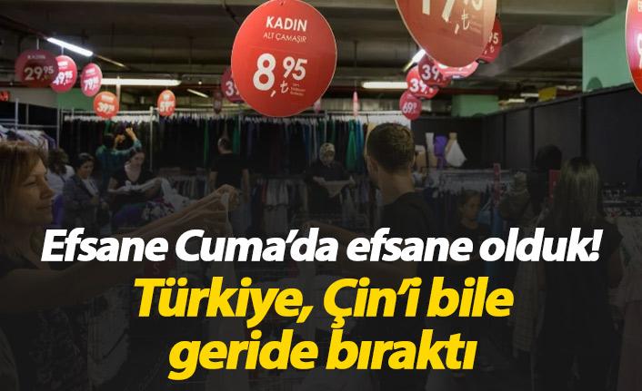 Efsane Cuma'da Türkiye efsane oldu!