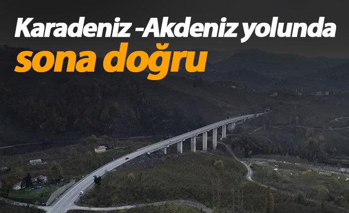 Karadeniz- Akdeniz yolu tamamlanıyor