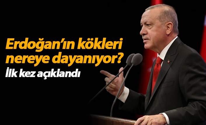 Erdoğan'ın aile kökleri nereye dayanıyor? İlk kez açıklandı