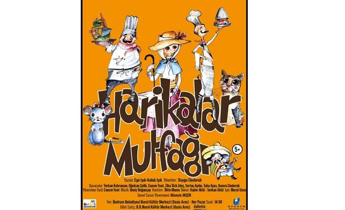 'Harikalar Mutfağı' oyunu 8 Aralık'ta çocukları bekliyor!