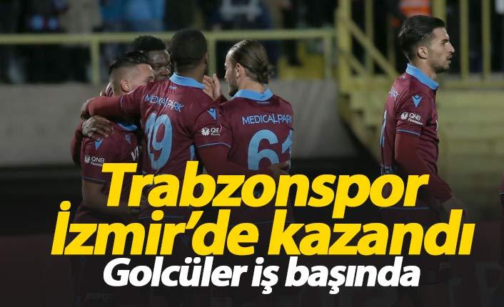 Trabzonspor Altay'ı yendi, avantajı aldı