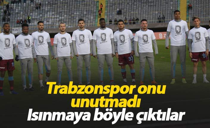 Trabzonspor onu unutmadı
