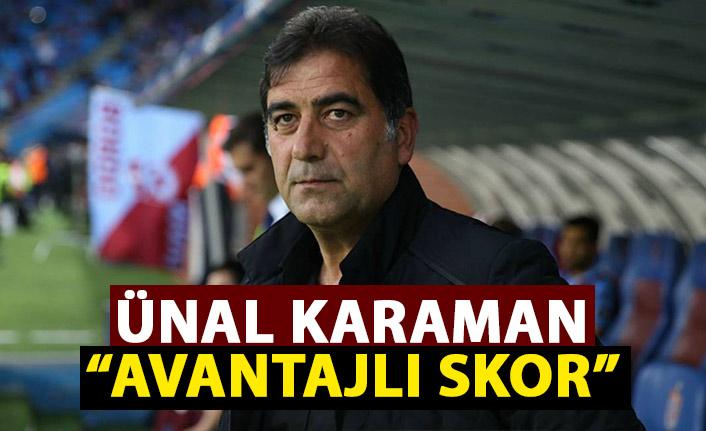 Ünal Karaman Altay maçı sonrası konuştu: Avantajlı skorla dönüyoruz
