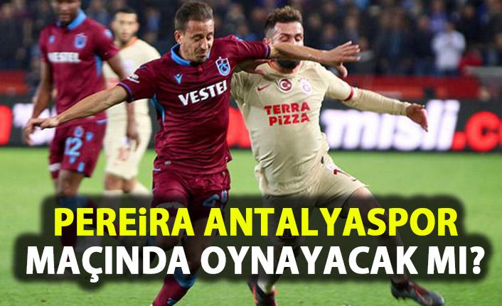 Trabzonspor'a Pereira müjdesi!