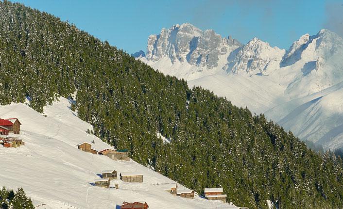 Kaçkar Dağları'nın muhteşem görüntüsü