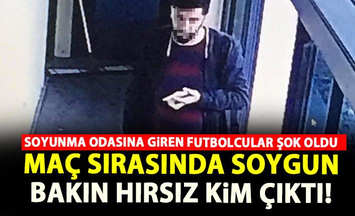 Maç sırasında futbolcuları soydu! Bakın hırsız kim çıktı!