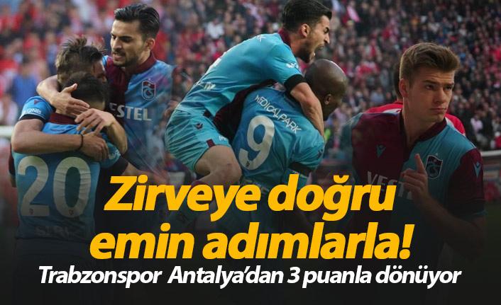 Trabzonspor Antalyaspor'u yendi