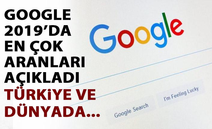 Google açıkladı! 2019'da dünya ve Türkiye bunları aradı