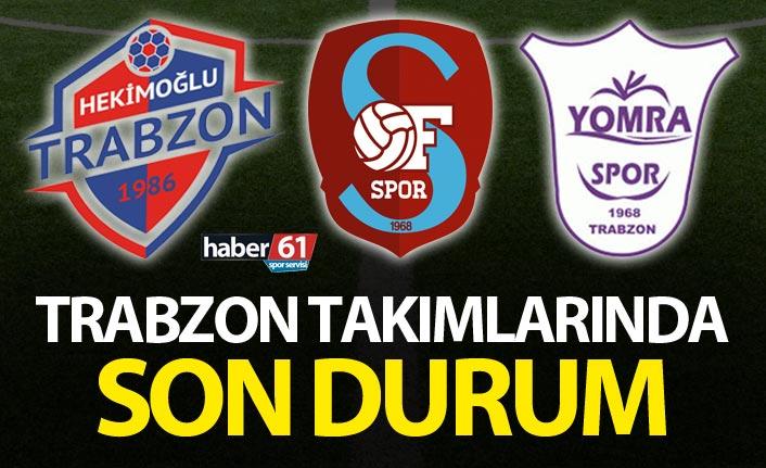 Trabzon takımları haftasonu mesaisinde