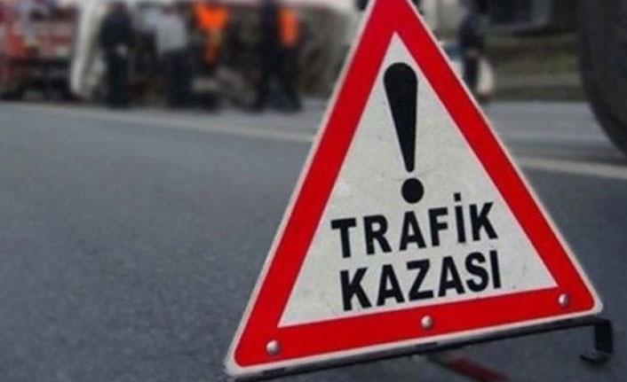 Bayburt'ta trafik kazası: 4 yaralı