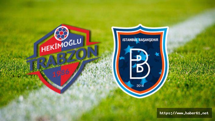 Başakşehir Hekimoğlu Trabzon hazırlıklarını tamamladı