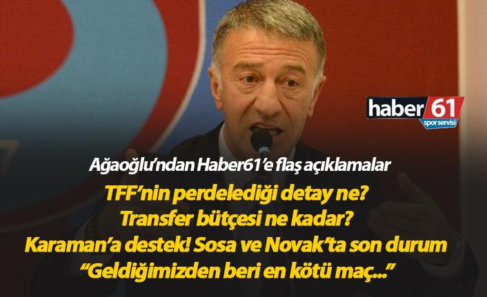 Ağaoğlu: TFF'nin kararında perdelenen bir detay var!