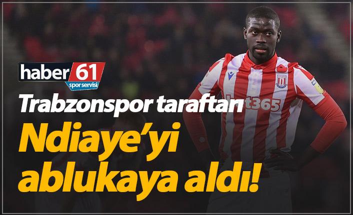 Trabzonspor taraftarından Ndiaye'ye mesaj yağmuru