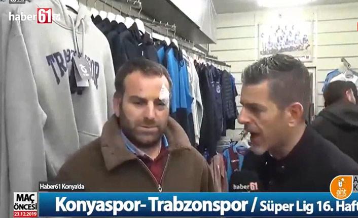 Trabzonspor taraftarına Konya'da saldırı