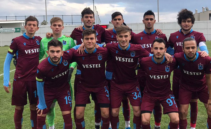 Trabzonspor'un gençleri farklı kazandı