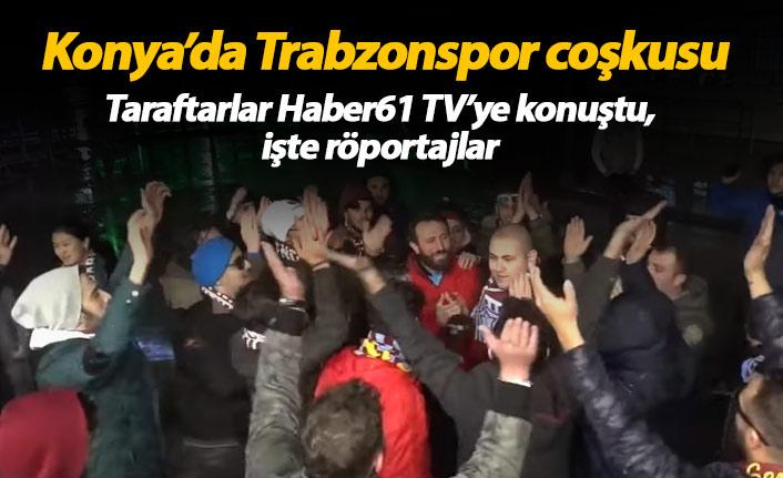 Konyaspor Trabzonspor maçı öncesi taraftar röportajları