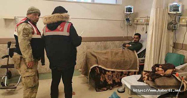Alabora olan tekneden yaralı kurtarılanlar tedavi altına alındı