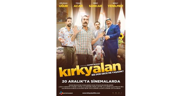 """""""Kırk Yalan"""" filminin galası İzmir'de yapılacak!"""