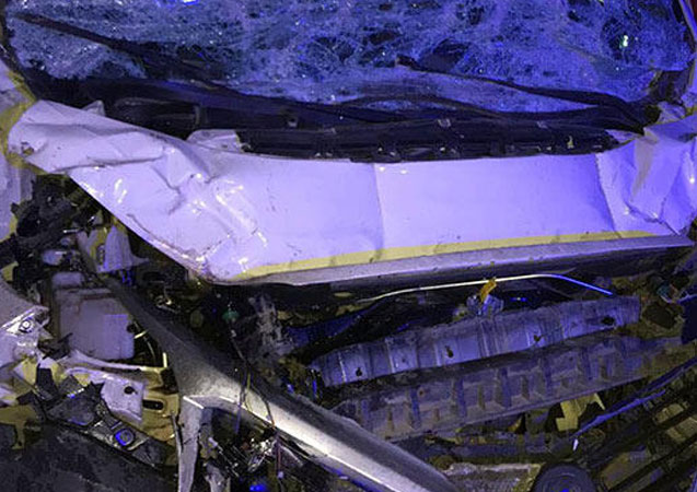 Bilecik'te kamyonet TIR'a çarptı: 1 ölü
