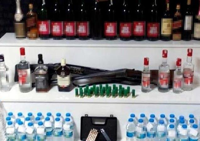 Sahte içki operasyonu! Çok sayıda gözaltı
