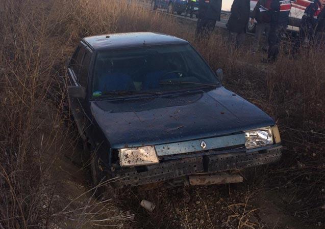 Korkunç kaza otomobil şarampole devrildi