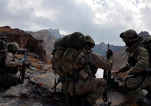 Kuzey Irak'ta teröristlere darbe